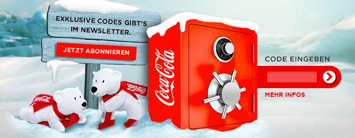 gewinne mit Coca Cola