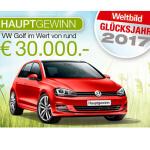 VW Golf gewinnen