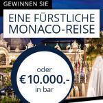 gewinn eine Monaco Reise