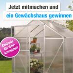 gewinne ein Gartenhaus