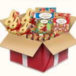 Schokoladen Pakete gewinnen