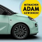 Opel Gewinnspiel um eine Adam
