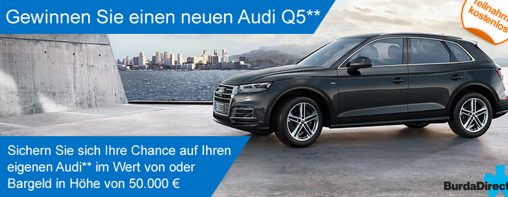 Audi Q5 gewinnen