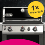 Telekomgewinnspiel Weber Grill