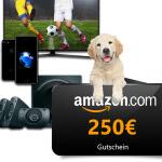 Amazon Gutscheine gewinnen