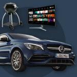 gewinne einen Mercedes Benz CLA