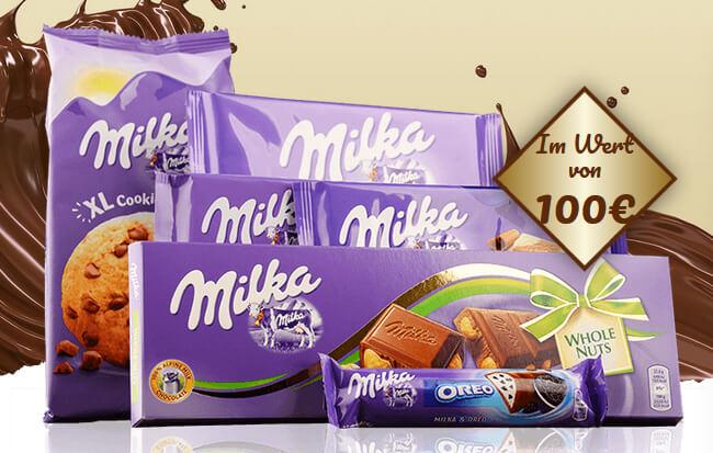 Milkaschokolade gewinnen