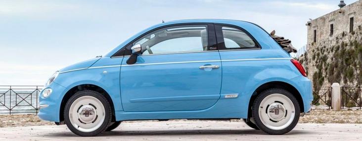 Fiat 500C STAR gewinnen