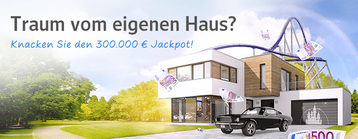 300.000,- Euro Jackpot