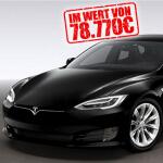 Gewinnspiel um einen Tesla