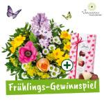 Blumenstrauß gewinnen