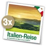 Italien Reise gewinnen