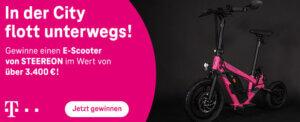 E-Scooter gratis gewinnen